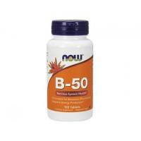 B-50 Complex В-50 NOW Foods, 100 таблеток