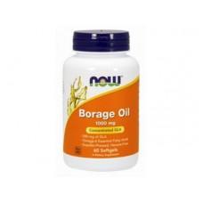Борадж Ойл / Borage Oil, гамма-линоленовая кислота, 60 капсул