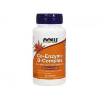 B комплекс Ко-энзим Co-Enzyme B-Complex NOW Foods, 60 таблеток