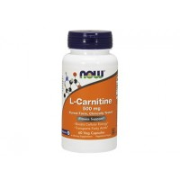 L-Карнитин L-Carnitine 500 мг NOW Foods, 60 капсул
