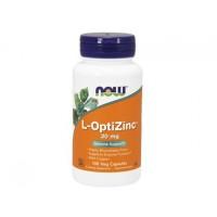 L-Опти-Цинк L-Opti-Zinc NOW Foods, 100 капсул