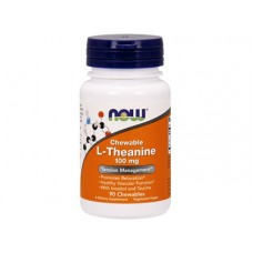 L-Тианин L-Theanine NOW Foods, 90 капсул
